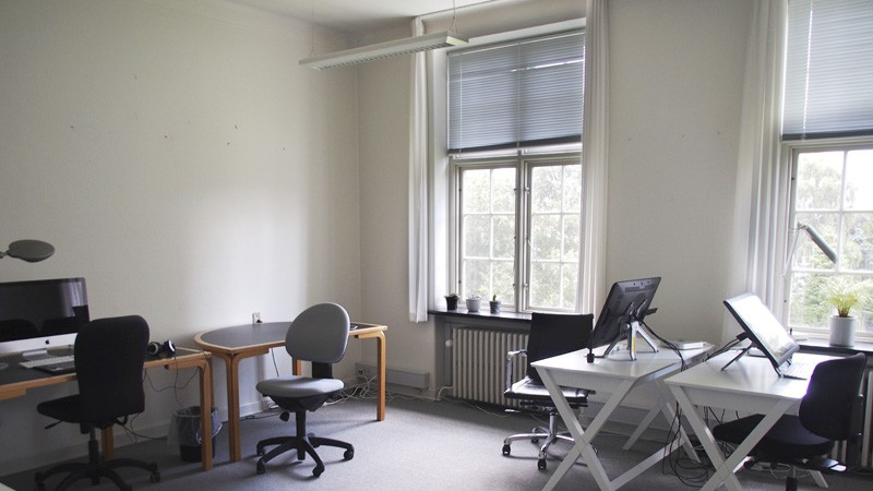 Picture 3: Working space